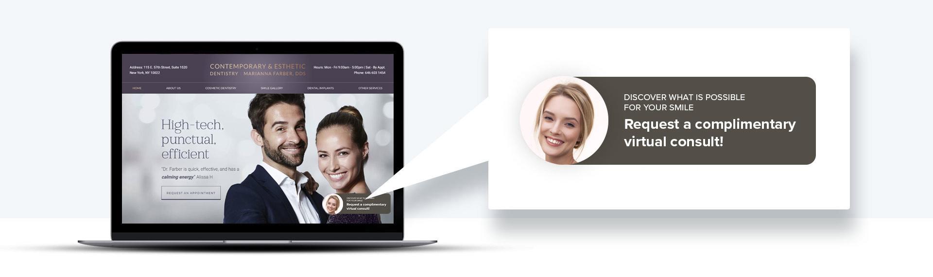 Image of Virtual Consult Widget